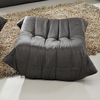 Modway Waverunner Wave Light Gray Rectangle Ottoman