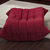 Modway Waverunner Wave Red Rectangle Ottoman