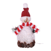Oddity Lighted Tabletop Figurine Snowman Indoor Christmas Decoration