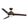 Kendal Lighting Magnum 52-in Oil-Brushed Bronze Downrod Mount Indoor Ceiling Fan with Light Kit and Remote Control (3-Blade)