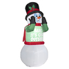 6-ft 0.048-in Internal Light Snowman Christmas Inflatable
