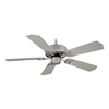 Royal Pacific Sunset 42-in Brushed Pewter Downrod Mount Indoor/Outdoor Ceiling Fan