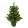 Vickerman 2-ft Pre-Lit Cashmere Artificial Christmas Tree with White Incandescent Lights