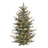 Vickerman 3-ft Pre-Lit Pine Artificial Christmas Tree with White Incandescent Lights