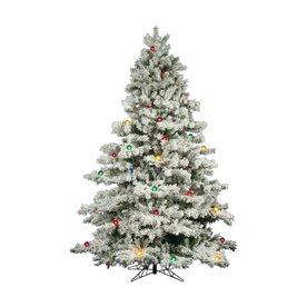 Vickerman 9 ft pre lit alaskan pine artificial christmas tree with 900