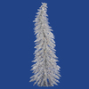 Vickerman 4-ft Pre-Lit Whimsical Slim Artificial Christmas Tree with White Incandescent Lights