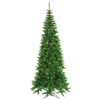 Vickerman 5.5-ft Pre-Lit Fir Slim Artificial Christmas Tree with Green Incandescent Lights