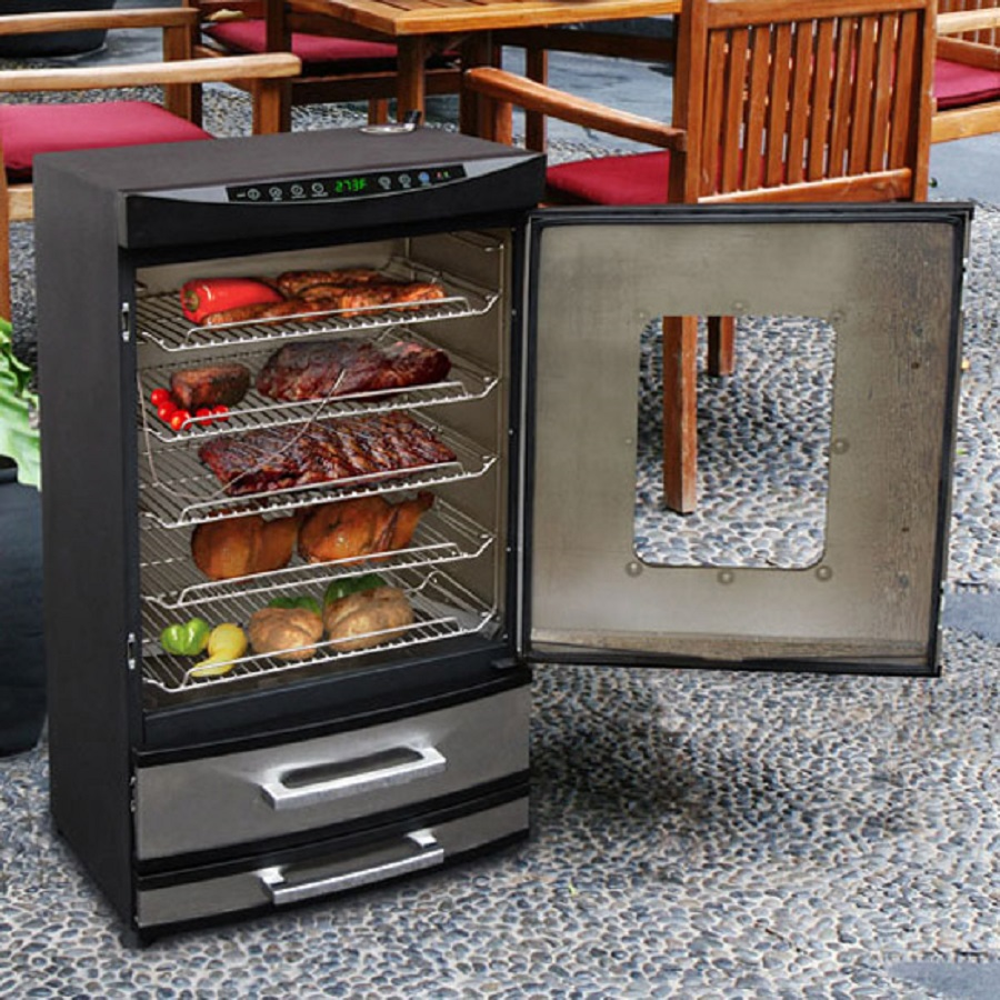 how to use masterbuilt electric smoker