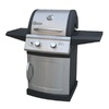 Landmann USA Falcon Stainless Steel/Black 2-Burner (30,000-BTU) Liquid Propane Gas Grill