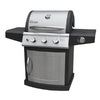 Landmann USA Falcon Stainless Steel/Black 3-Burner (36,000-BTU) Liquid Propane Gas Grill