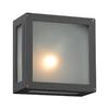 PLC Lighting Bandero 6-in H Bronze Outdoor Wall Light
