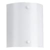 Sea Gull Lighting 1-Light White Bathroom Vanity Light