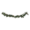Northlight Bright Gate 10-in W x 9-ft L Pre-Lit Indoor Artificial Christmas Garland with Multicolor Incandescent Lights
