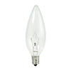 Cascadia Lighting Krystal Touch 20-Pack 60-Watt B10 Candelabra Base (E-12) Base Dimmable Outdoor Halogen Light Bulbs