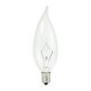 Cascadia Lighting Krystal Touch 20-Pack 25-Watt Xenon Ca10 Candelabra Base (E-12) Base Dimmable Outdoor Halogen Light Bulbs