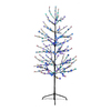 Northlight Lb International 6-ft Pre-Lit Twig Slim Artificial Christmas Tree with Multicolor LED Lights
