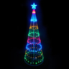 Northlight LB International 4-ft Lighted Freestanding Tree Outdoor Christmas Decoration with Multicolor LED Lights