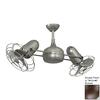 Matthews Dagny 13-in Textured Bronze Downrod Mount Indoor/Outdoor Ceiling Fan with Remote (6-Blade)