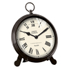 FirsTime Manufactory Station Pocket Analog Round Indoor Tabletop Standard Clock