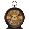 FirsTime Manufactory Color Wheel Analog Round Indoor Tabletop Standard Clock