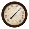 FirsTime Manufactory Indoor/Outdoor Oil-Rubbed Bronze Thermometer