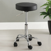 Furniture of America Ascon Black 27-in Adjustable Stool