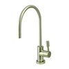 Elements of Design Brushed Nickel Cold Water Dispenser with High Arc Spout