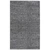 nuLOOM Shag Gray Rectangular Indoor Shag Area Rug (Common: 4 x 6; Actual: 48-in W x 72-in L)