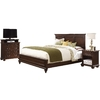 Home Styles Colonial Classic Dark Cherry King Bedroom Set