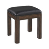 Home Styles 18.5-in H Two-Tone Tortoise Shell Rectangular Makeup Vanity Stool