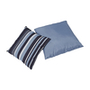Home Styles 2-Piece 18-in W x 18-in L Blue/Blue Stripe Square Indoor Decorative Pillows