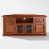Crosley Furniture Classic Cherry Corner Television Stand