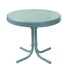 Crosley Furniture Gracie 20-in W x 20-in L Round Steel End Table