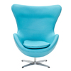 Modway Glove Baby Blue Accent Chair