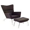 Modway Class Charcoal Gray Accent Chair