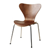 Fine Mod Imports 1 Jays Walnut Stackable Side Chair