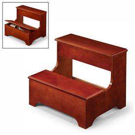 Shop Coaster Fine Furniture 2 Step Wood Step Stool At