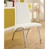 Furniture of America Set of 2 Halawa/Wailoa White Side Chairs