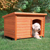 Trixie Pet Products 2.354-ft x 2.229-ft x 3.395-ft Wood Dog House