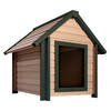 New Age Pet 3.125-ft x 3.025-ft x 3.516-ft Composite Dog House