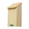 Coveside Conservation 11.75-in W x 23.5-in H x 11-in D Unfinished Pine Wood Bat House