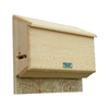 Coveside Conservation 17-in W x 17-in H x 5.5-in D Unfinished Pine Wood Bat House