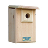 Coveside Conservation 6.75-in W x 12.5-in H x 9-in D Unfinished Pine Bird House