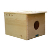 Coveside Conservation 18.5-in W x 17-in H x 26-in D Unfinished Pine Bird House
