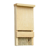 Coveside Conservation 7.25-in W x 12.5-in H x 3.75-in D Unfinished Pine Wood Bat House