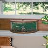 Coveside Conservation Panoramic Wood Window Bird Feeder