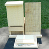 Coveside Conservation 7.25-in W x 15.5-in H x 3.75-in D Unfinished Pine Wood Bat House