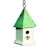 Heartwood 7-in W x 15-in H x 7-in D Verdi Copper Bird House