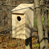 Heartwood 13-in W x 21-in H x 9.5-in D Unfinished Cypress Bird House