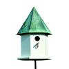 Heartwood 12-in W x 18-in H x 12-in D Verdi Copper Bird House